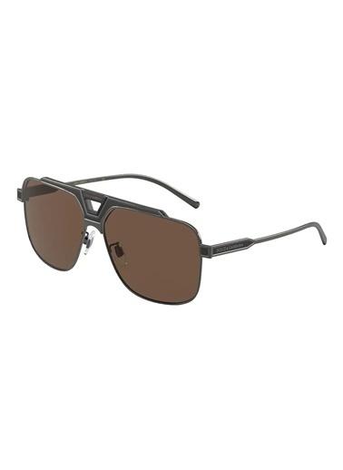 Dolce&Gabbana Dolce & Gabbana 0Dg2256 135073 62 Ekartman Erkek Güneş Gözlüğü Kahve